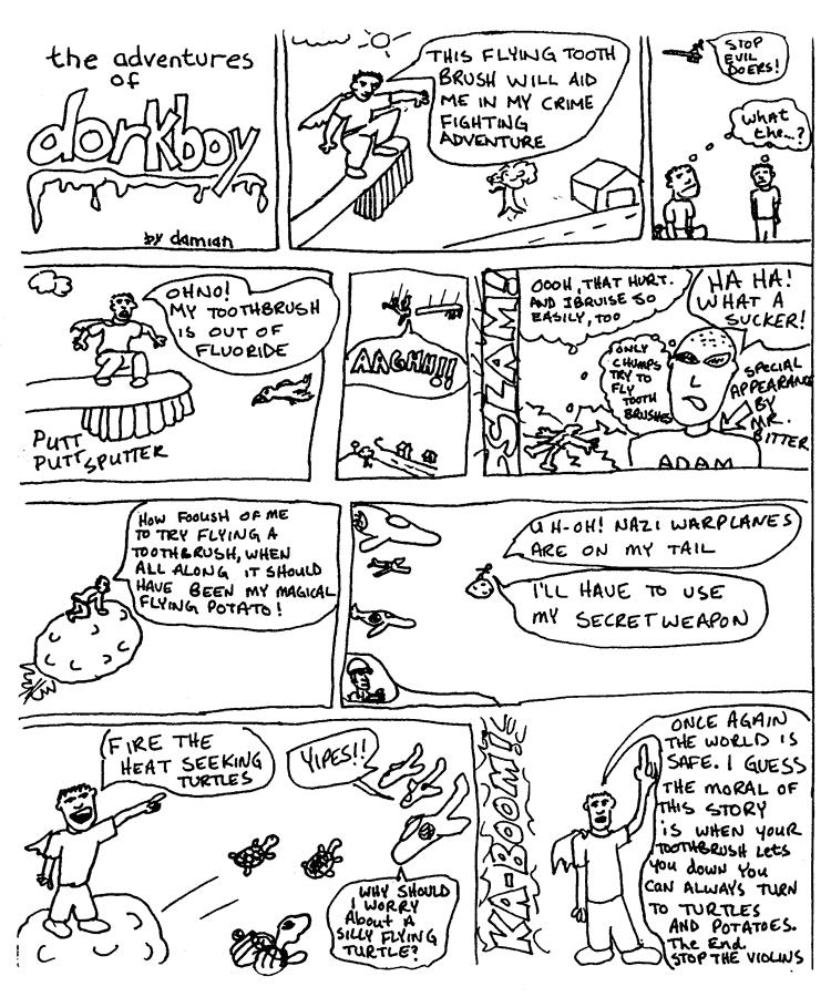 First dorkboy comic…EVER!!