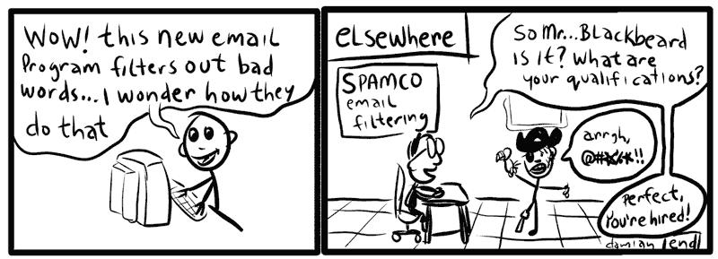 sketchbook – email filtering