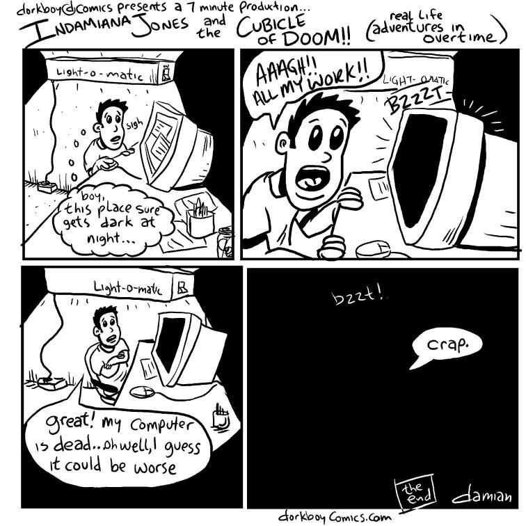 sketchbook – cubicle of doom