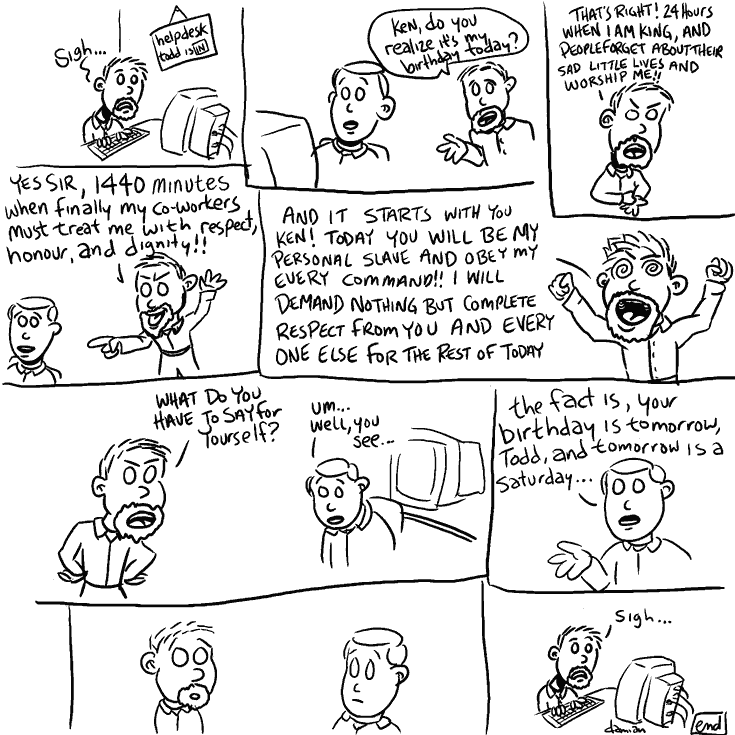 sketchbook – another birthday comic