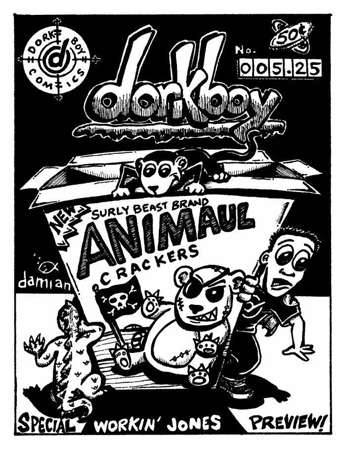 dorkboy Issue #5.25 – cover