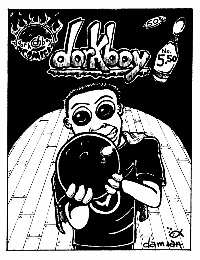dorkboy Issue #5.5 – cover