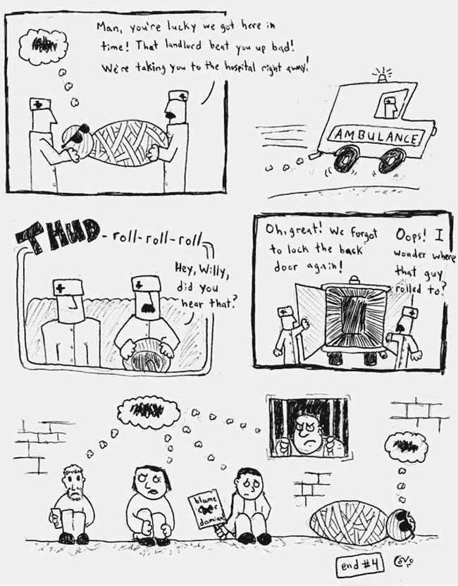 Comic Jam – Homeless p.4 – Conor