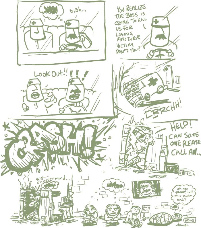 Comic Jam – Homeless p.5 – damian