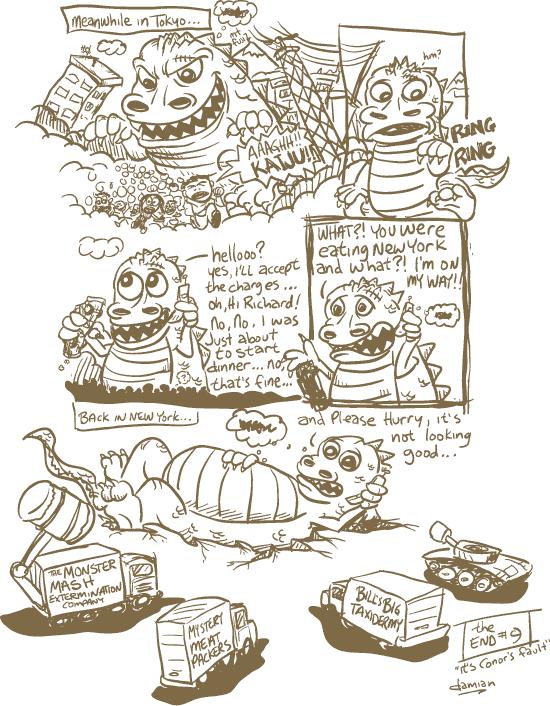 Comic Jam – Homeless p.9 – damian