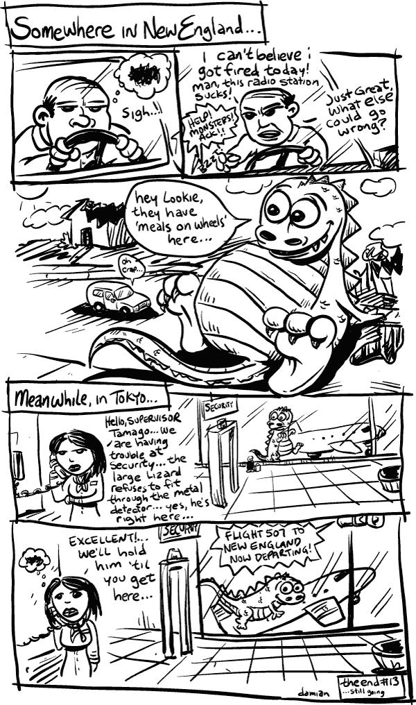 Comic Jam – Homeless p.13 – damian