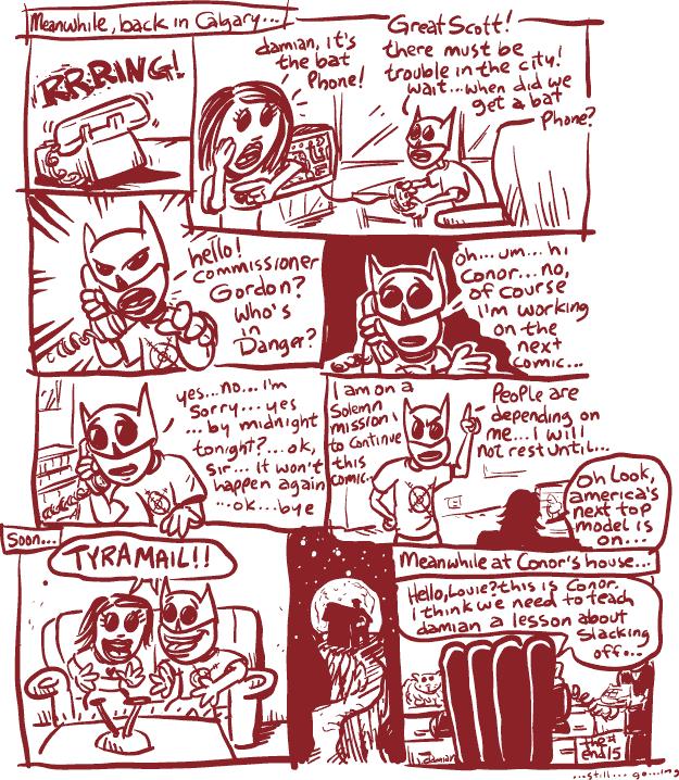 Comic Jam – Homeless p.15 – damian