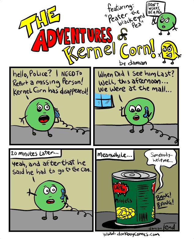 Kernel Corn – case of the missing kernel