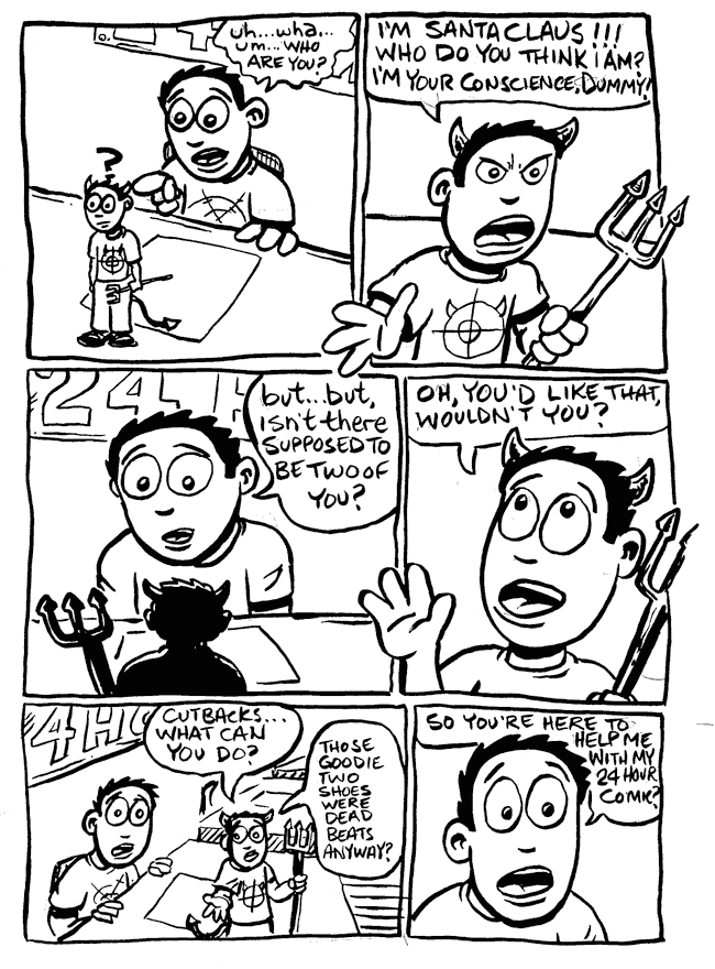 a day in the life… (24 hr comic) p.4