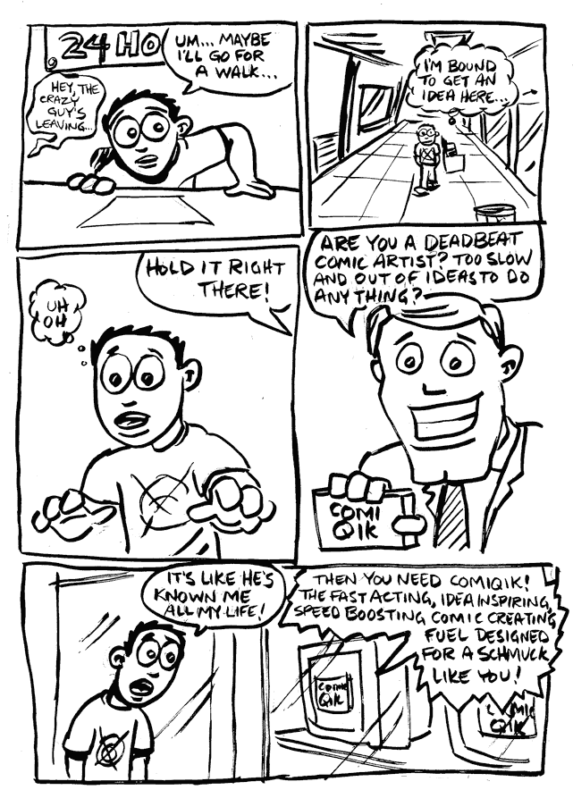 a day in the life… (24 hr comic) p.10