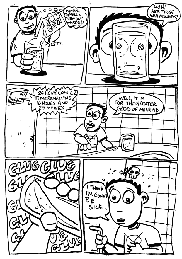 a day in the life… (24 hr comic) p.13