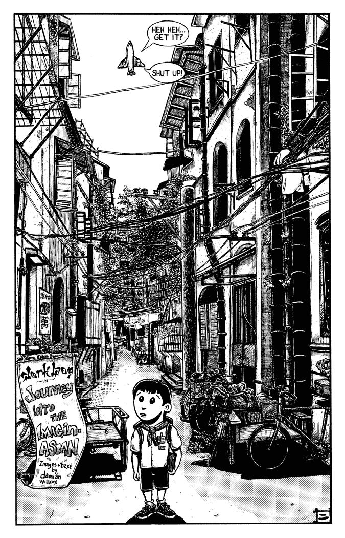 dorkboy #6.1 – China p.2