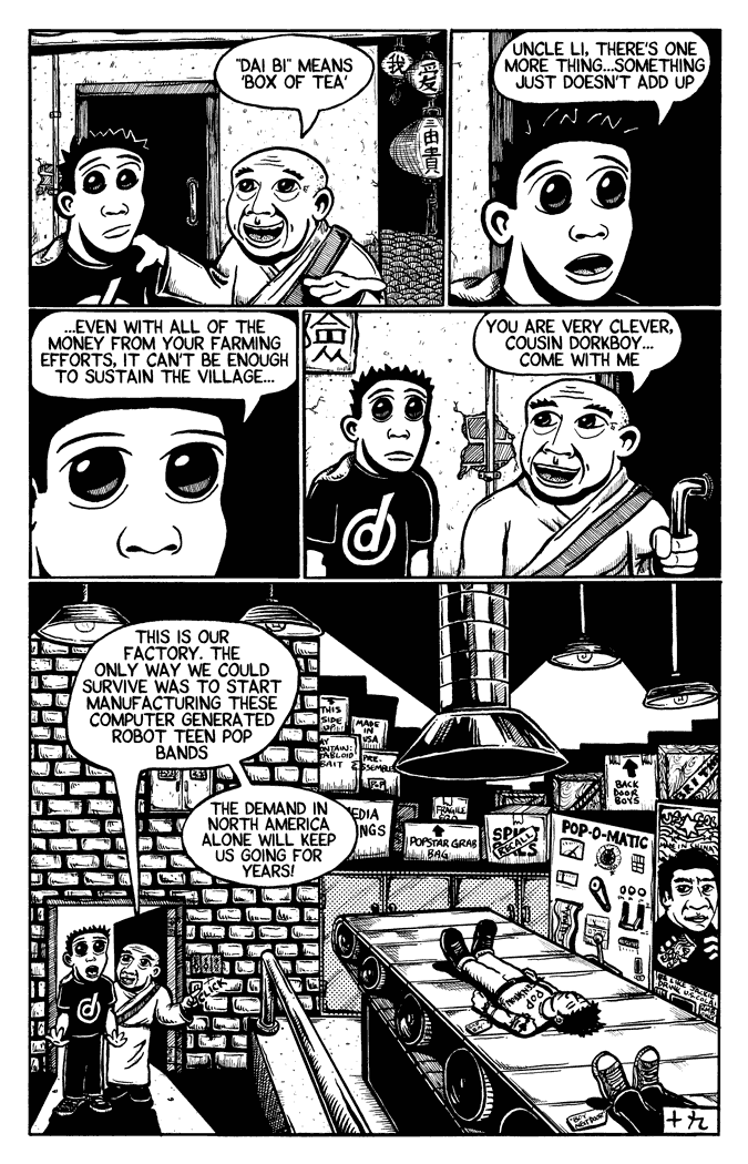 dorkboy #6.1 – China p.19