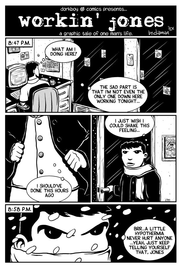 Workin Jones #2 – page one