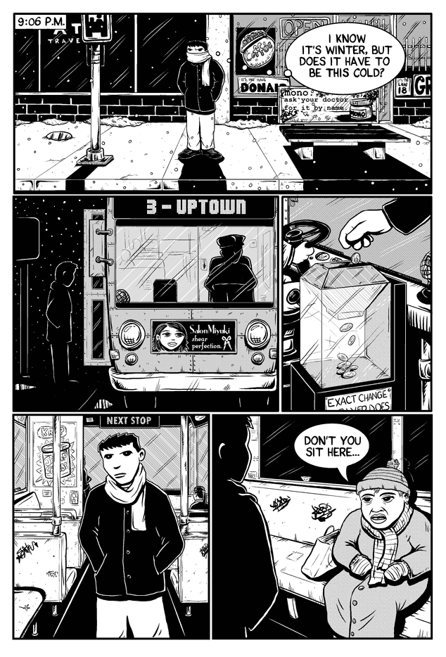 Workin Jones #2 – page two