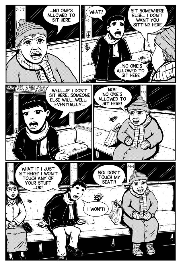Workin Jones #2 – page three