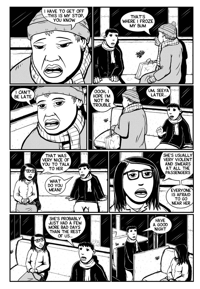 Workin Jones #2 – page six