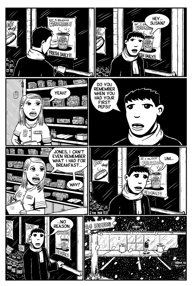 Workin Jones #2 – page eight