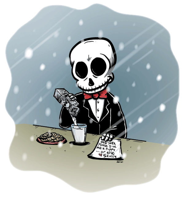 Skully – A Christmas wish…
