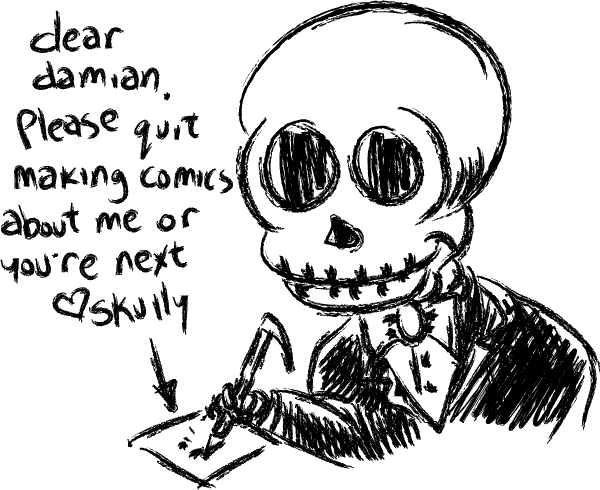 Skully – letter to the author