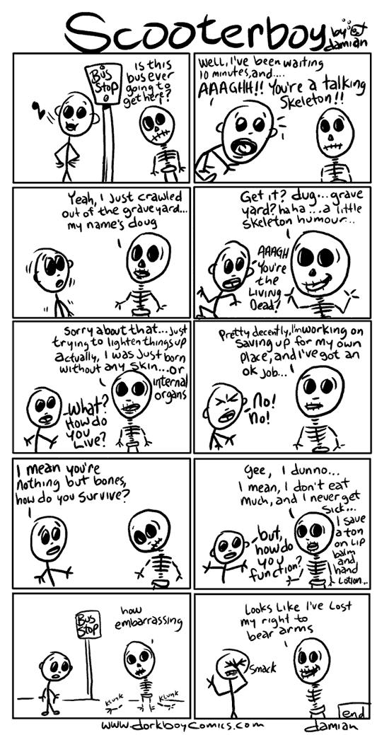 Scooterboy – meets skullboy