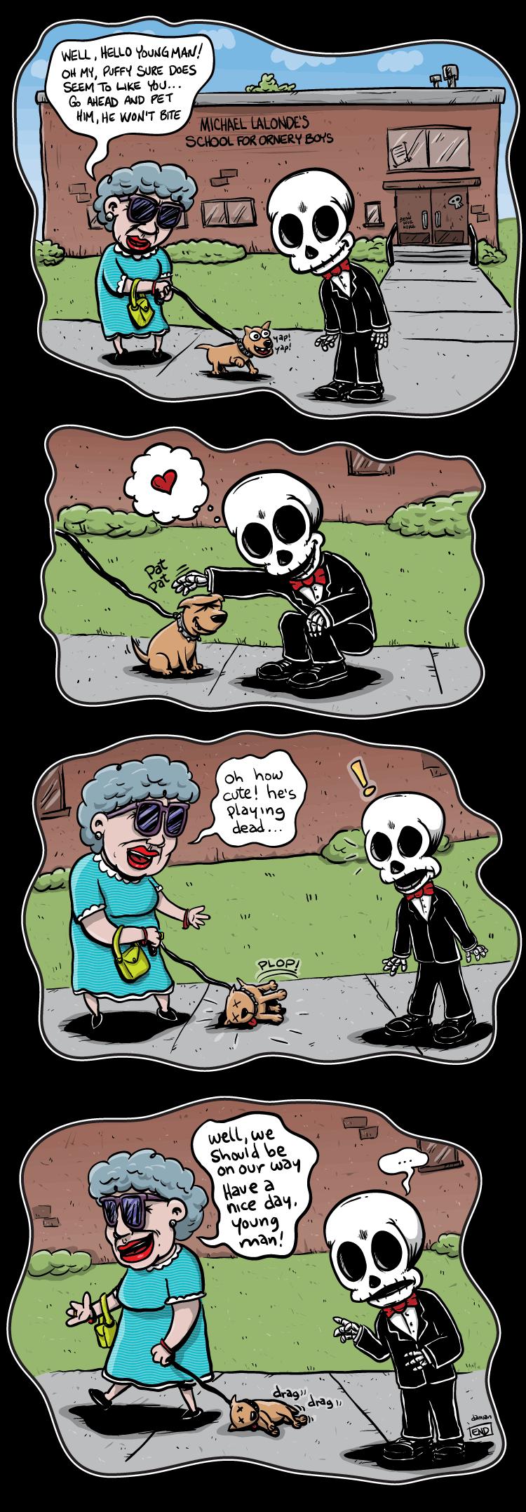 Skully – Man's Best Friend…