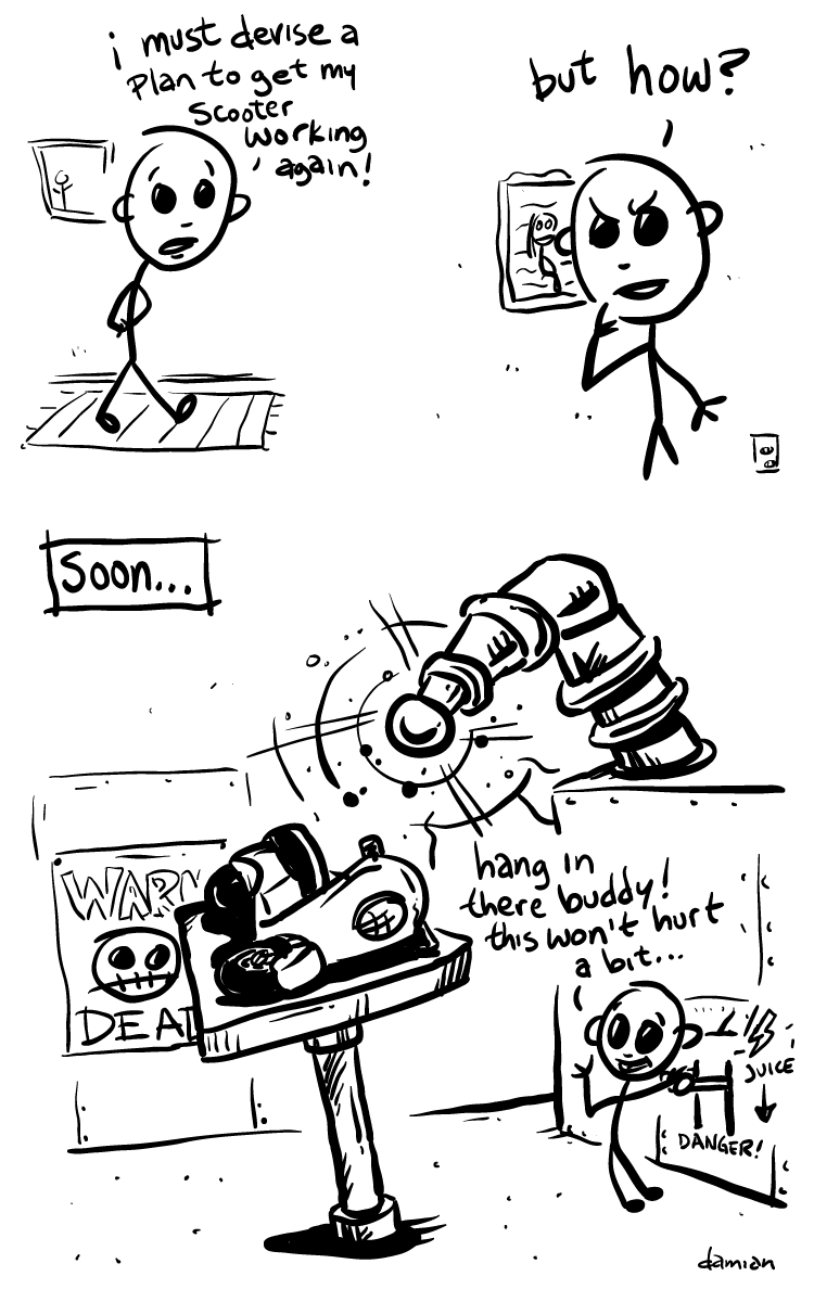 Scooterboy – Frankenscoot 1