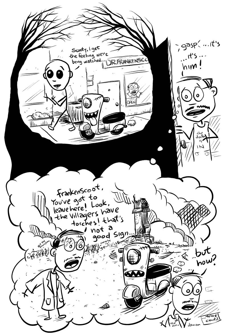 Scooterboy – Frankenscoot 5