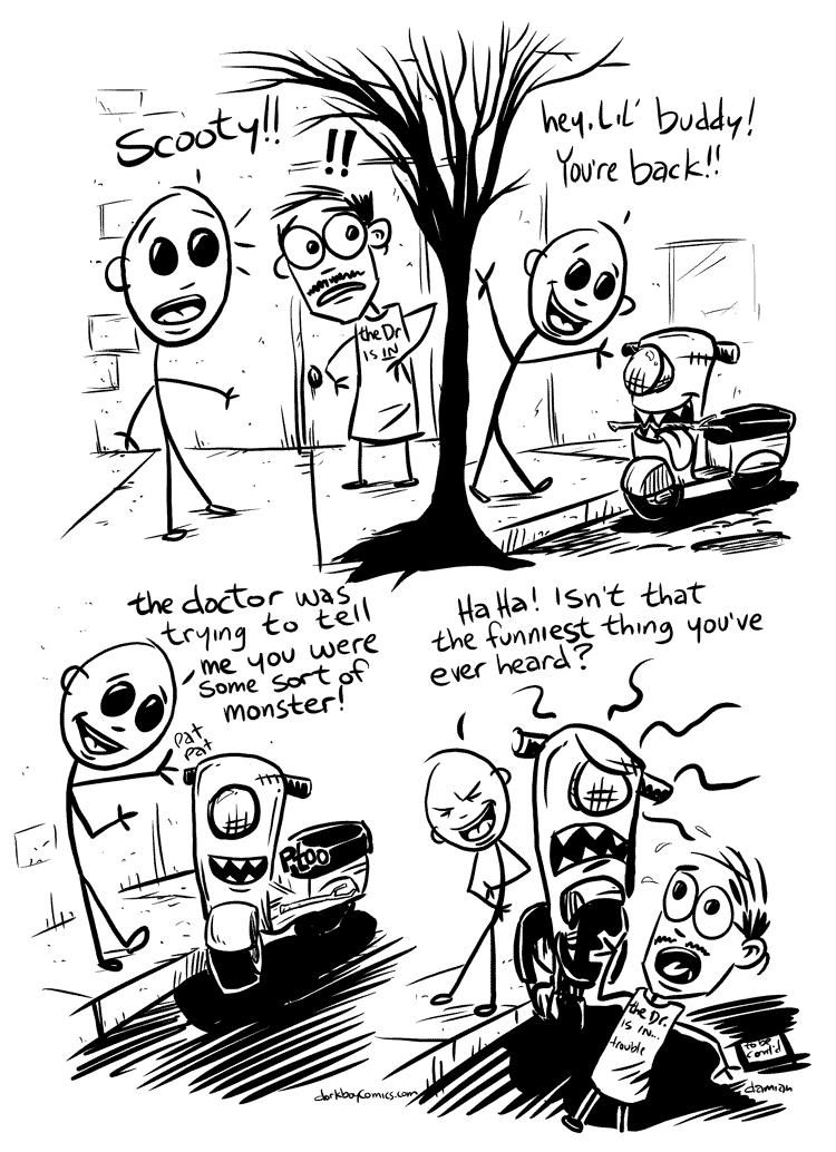 Scooterboy – Frankenscoot 10