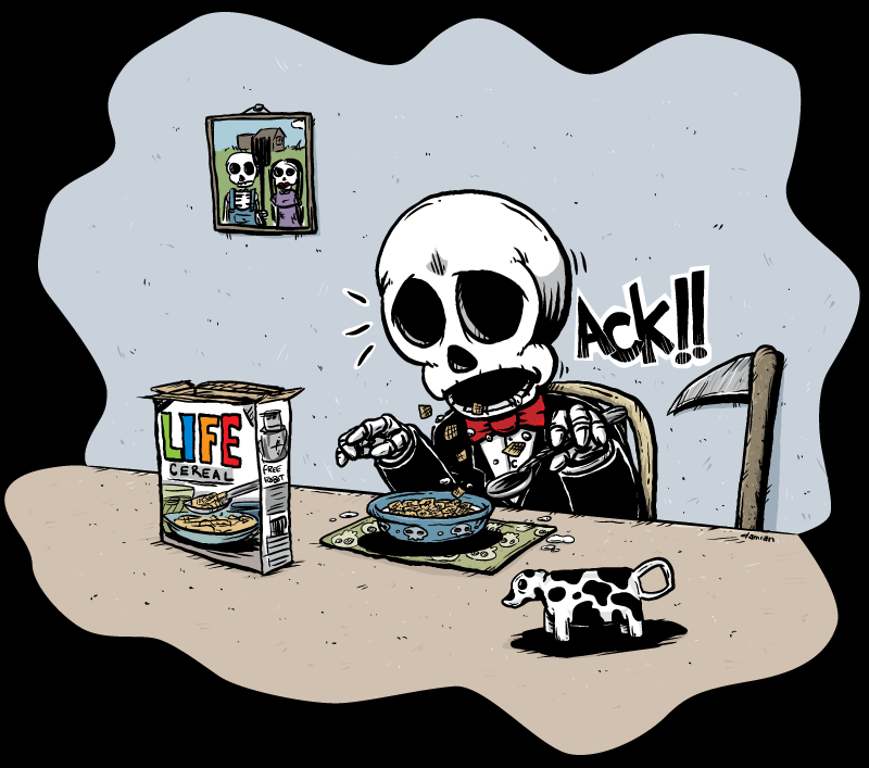 Skully – Breakfast of Champions?