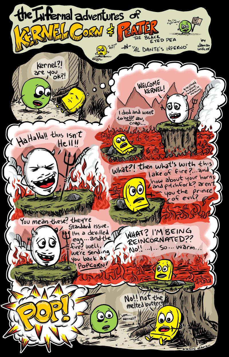 Kernel Corn – Al Dante's Inferno (fibre p.5)