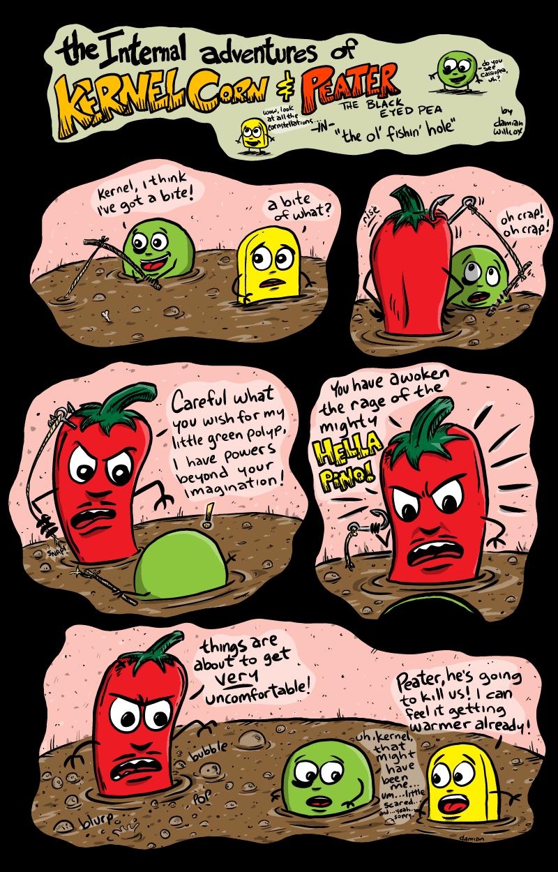 Kernel Corn – The Fishin' Hole (fibre p.11)
