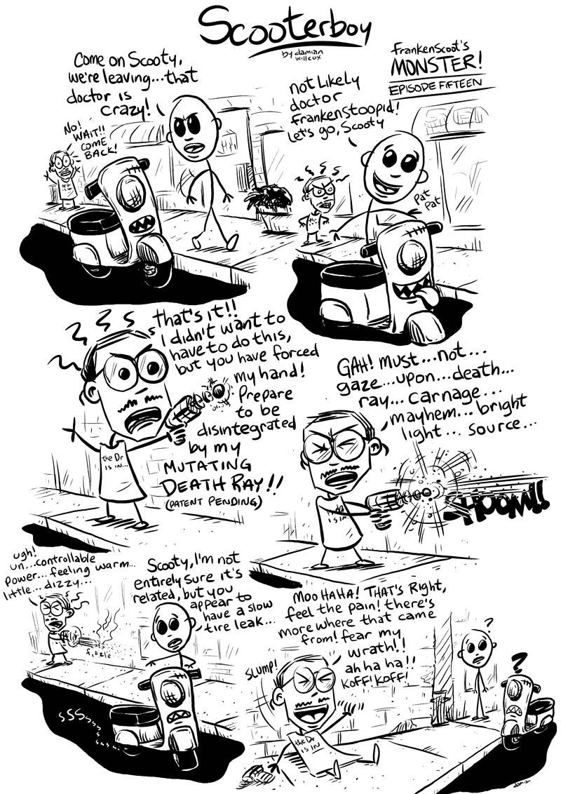 Scooterboy – Frankenscoot 15