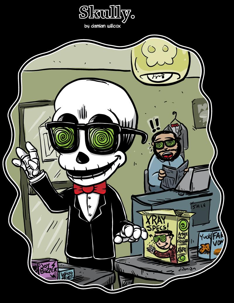 Skully – Skin Deep