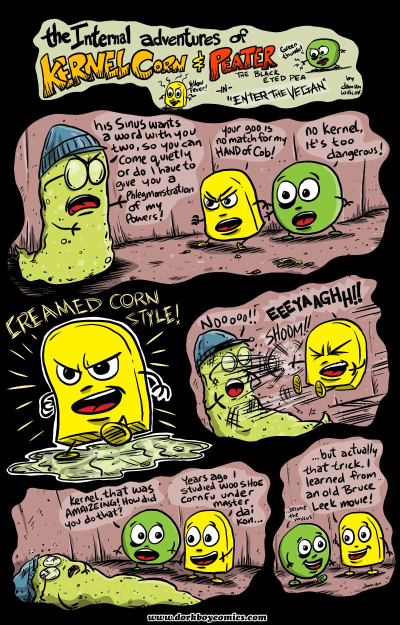 Kernel Corn – Enter the Vegan!
