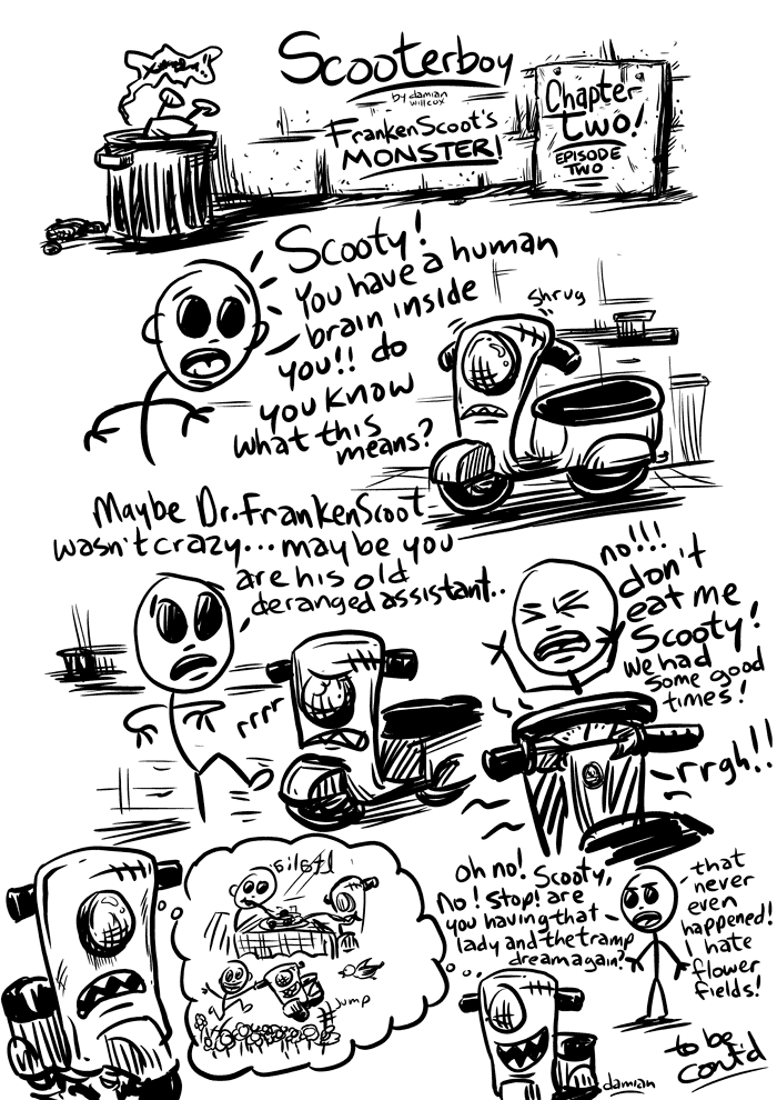 Scooterboy – brain food