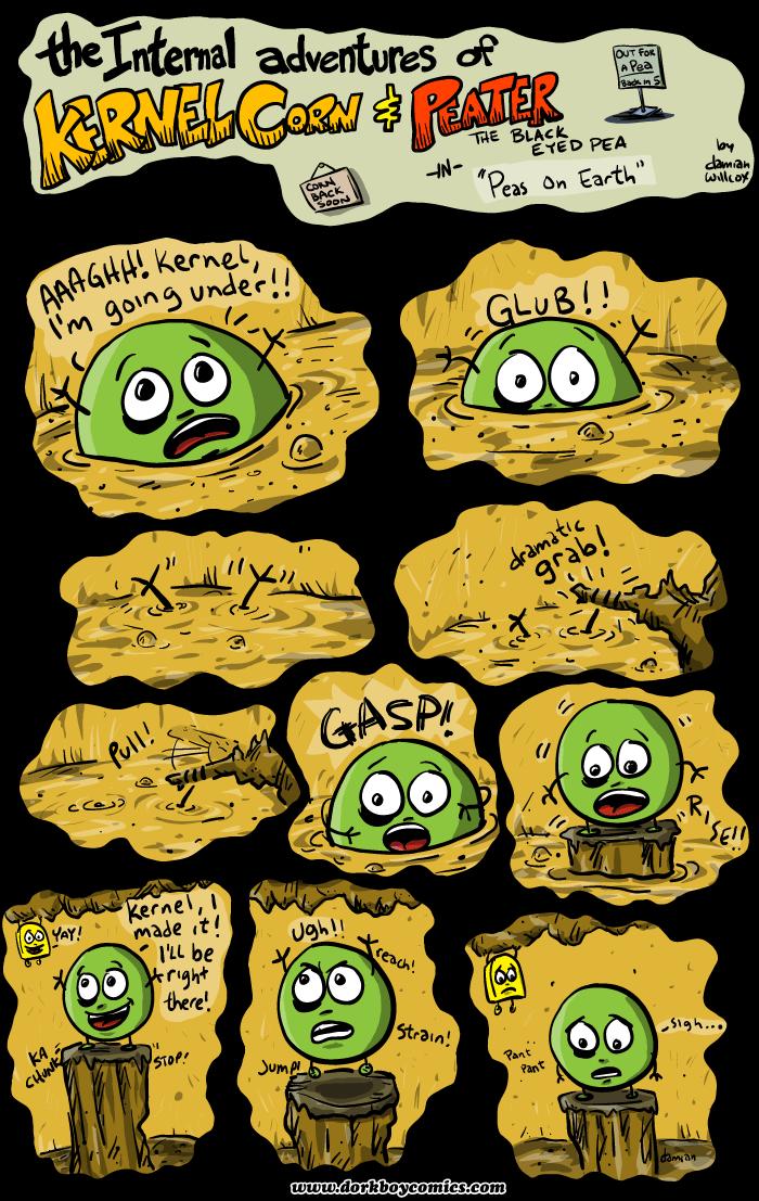 Kernel Corn – Peas on Earth