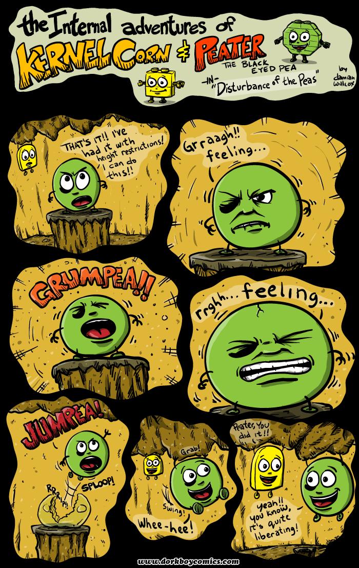 Kernel Corn – Disturbance of the Peas