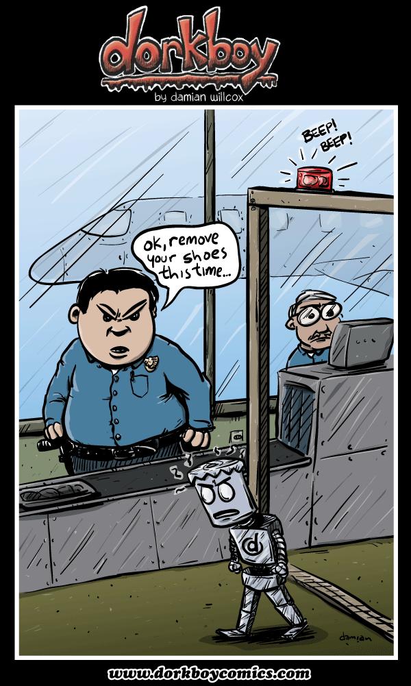 dorkboy – Planes, Trains & Robotomobiles