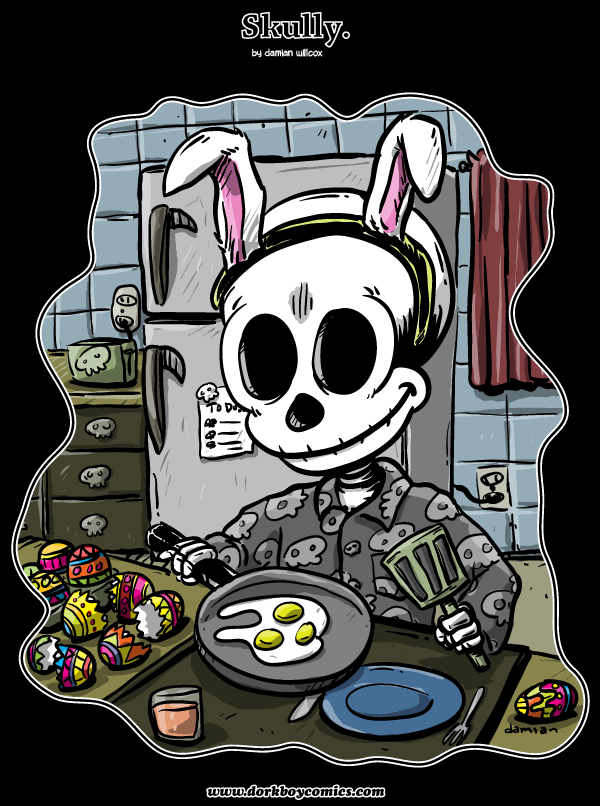 Skully – Easter Eggs
