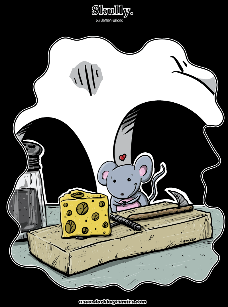 Skully – mouse in the house