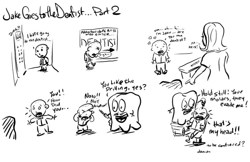 Sketchbook – Tooth adventures #1