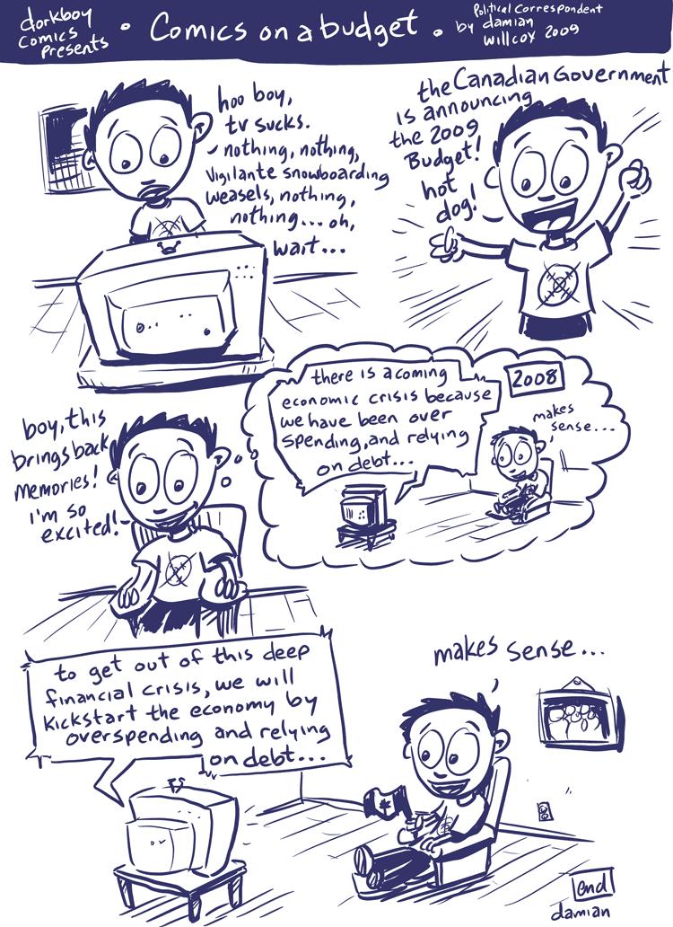 Comics on a budget