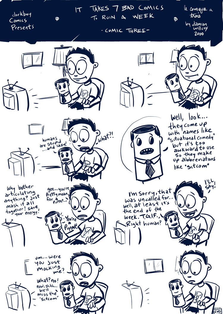 7 bad comics to ruin a week – #3