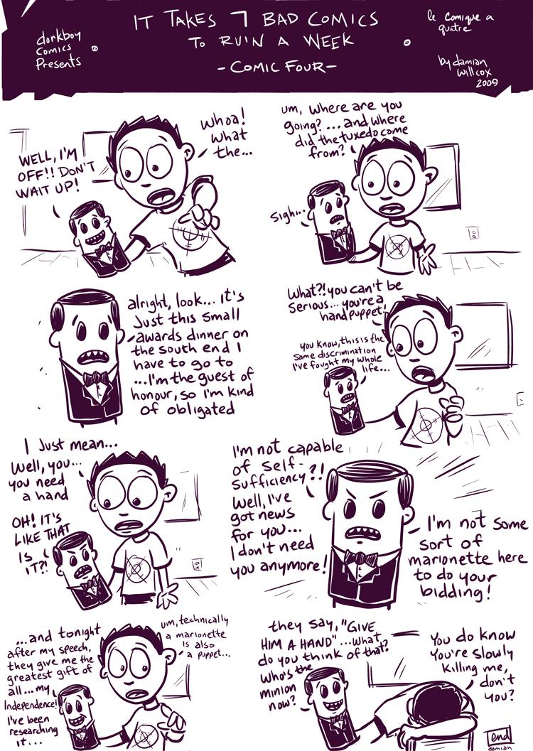 7 bad comics to ruin a week – #4