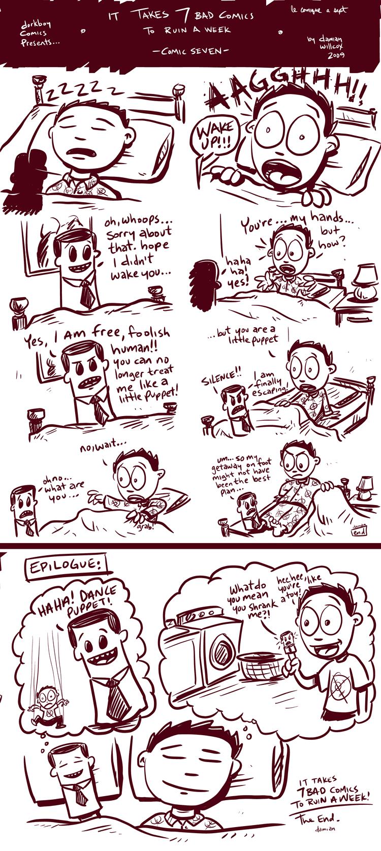 7 bad comics to ruin a week – #7