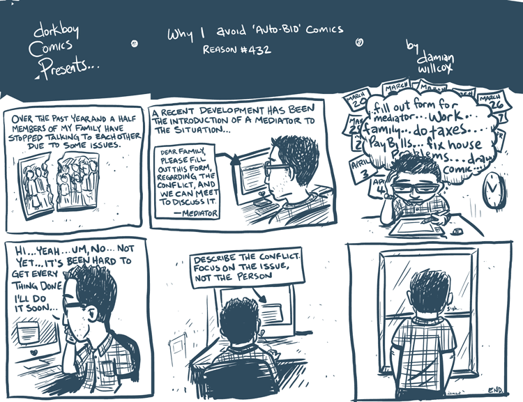 Why I avoid 'autobio' comics reason #432