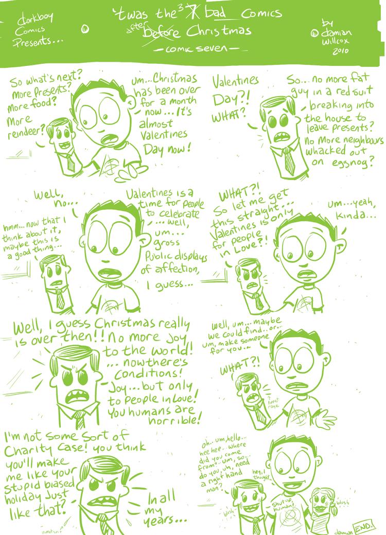 twas the 7 bad comics before Christmas -7