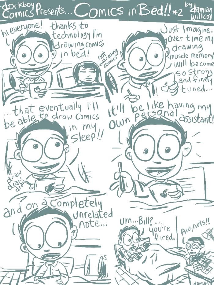 Comics in Bed #2