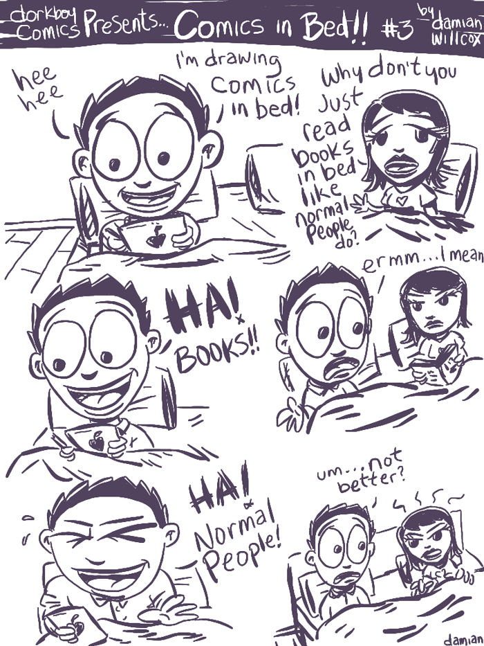 Comics in Bed #3